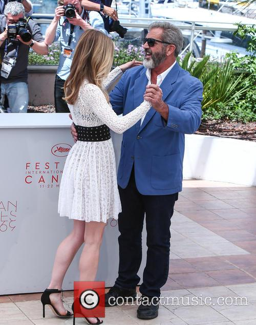 Erin Moriarty and Mel Gibson 2