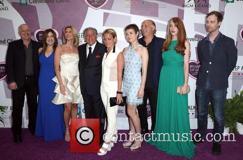 Tony Bennett and Family 3