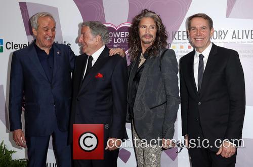 Larry Ruvo, Tony Bennett, Steven Tyler and Jeff Koons 9