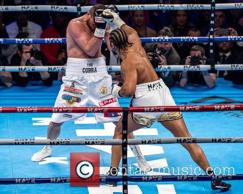 David Haye and Arnold Gjerjaj 8