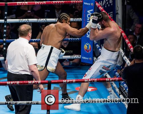 David Haye and Arnold Gjerjaj 10