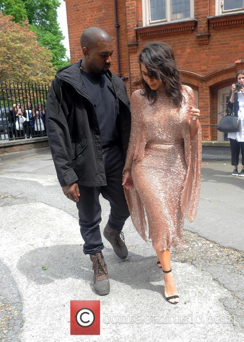 Kim Kardashian and Kanye West 11