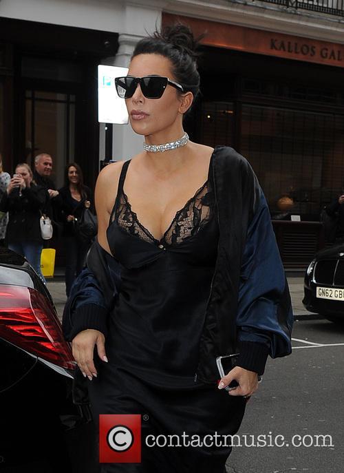 Kim Kardashian and Kanye West 1