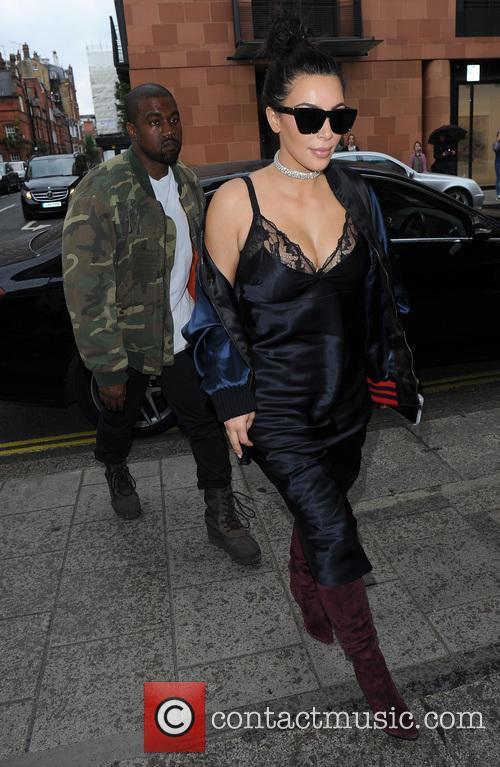 Kim Kardashian and Kanye West 4