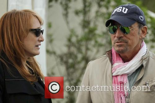 Bruce Springsteen and Patti Scialfa 5