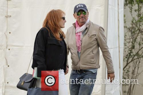 Bruce Springsteen and Patti Scialfa 6