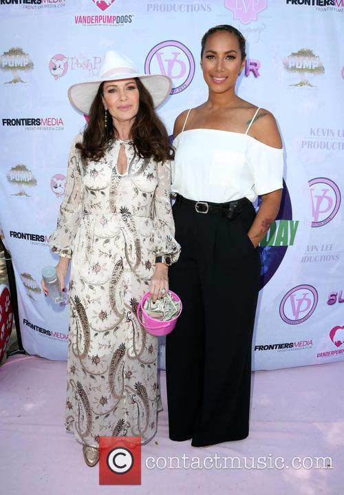 Lisa Vanderpump and Leona Lewis 2