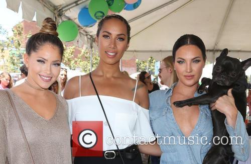 Olivia Peirson, Leona Lewis and Natalie Halcro 7
