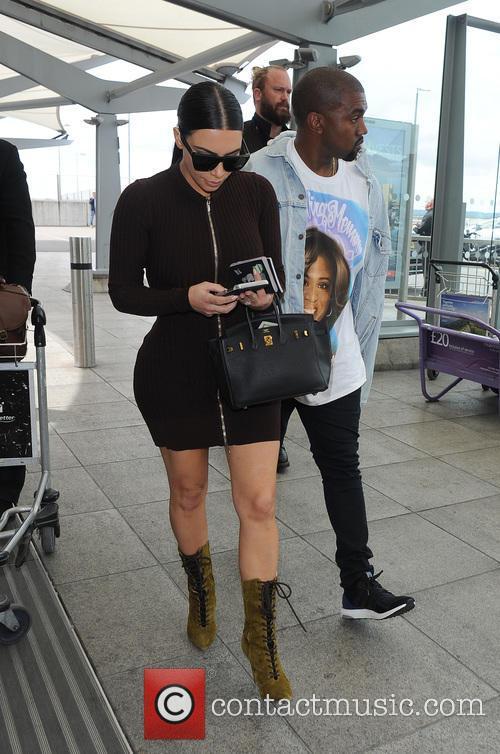 Kim Kardashian and Kanye West 9