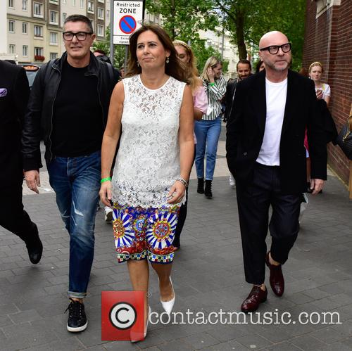 Domenico Dolce, Stefano Gabbana and Alexandra Shulman 2