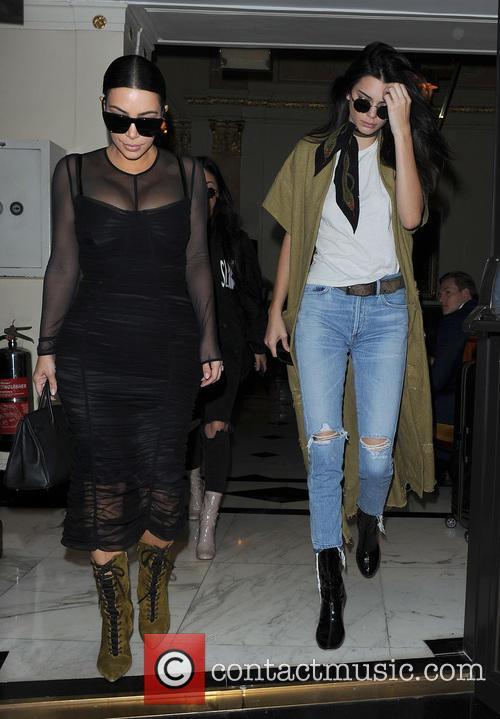 Kim Kardashian and Kendall Jenner 2