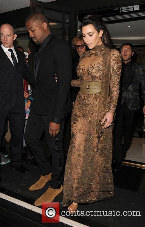 Kim Kardashian and Kanye West 8