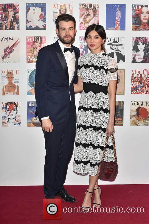 Jack Whitehall and Gemma Chan at the Vogue 100th Anniversary Gala