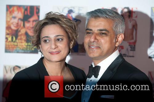 Sadiq Khan and Wife 1