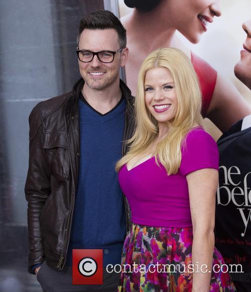 Megan Hilty and Husband 1