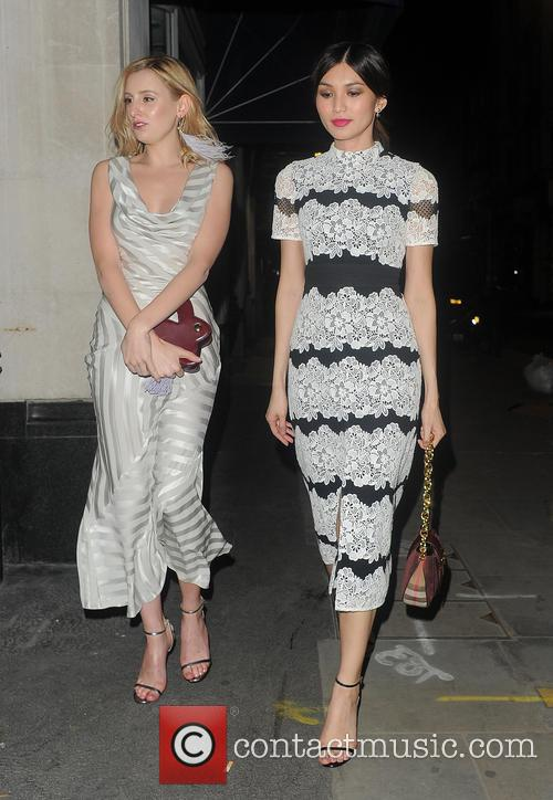 Laura Carmichael and Gemma Chan 1