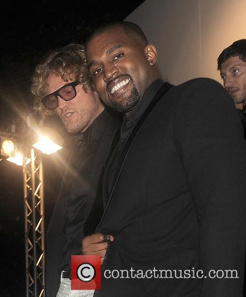Kanye West and Peter Dundas 1
