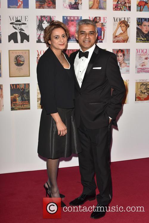 Sadiq Khan and Wife 1