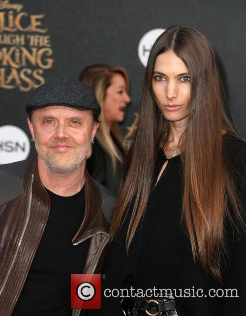 Lars Ulrich and Jessica Miller 1