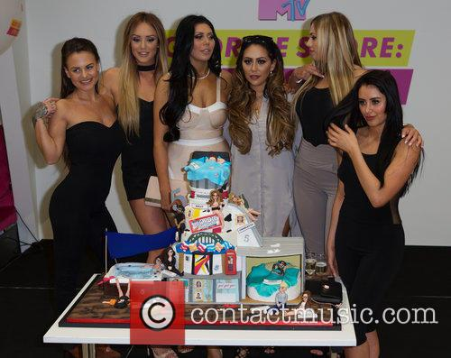 Charlotte Crosby, Holly Hagan, Chloe Etherington, Chantelle Connelly, Marnie Simpson and Sophie Kasaei 5