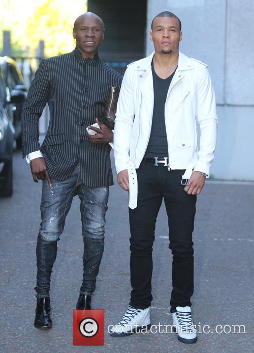 Chris Eubank and Jr. 2