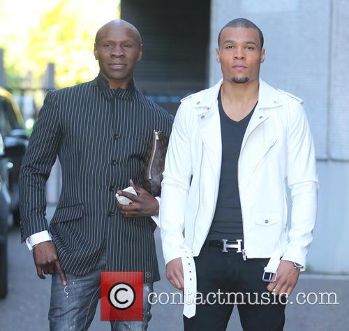 Chris Eubank and Jr. 3