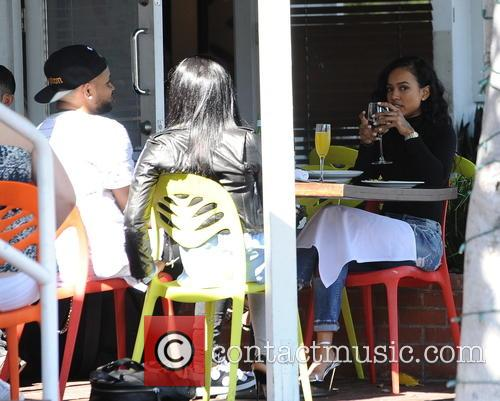 Christina Milian and Karrueche Tran 2