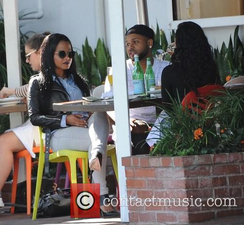 Christina Milian and Karrueche Tran 4