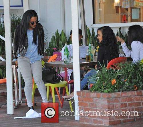 Christina Milian and Karrueche Tran 7