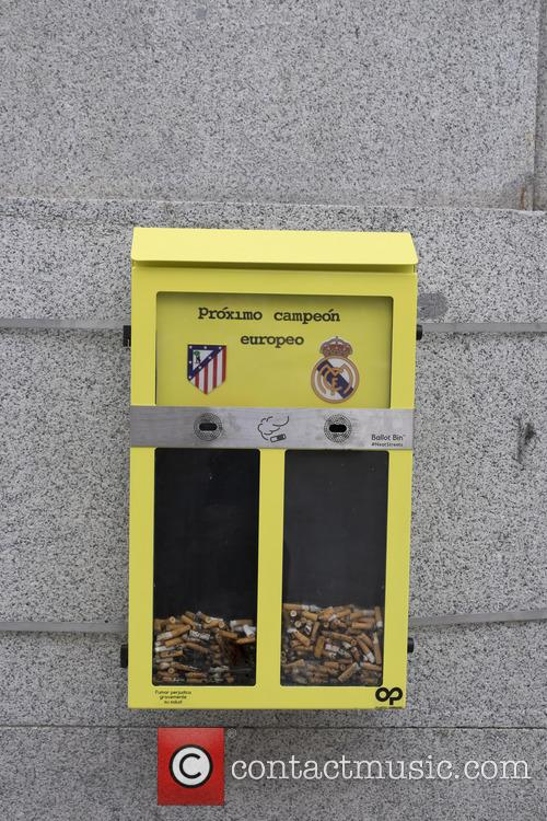 The Madrid City Council has installed bins that...