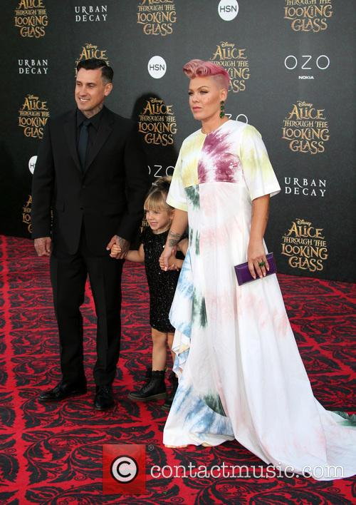 Carey Hart, Willow Sage Hart and Alecia Moore Aka Pink 1
