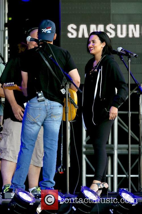 Demi Lovato and Brad Paisley