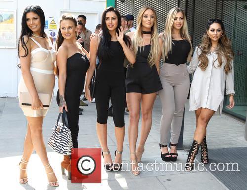 Chloe Etherington, Chantelle Connolly, Marnie Simpson, Charlotte Crosby, Holly Hagan and Sophie Kasaei 1