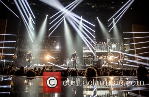 James Bourne, Matt Willis, Charlie Simpson and Busted 7