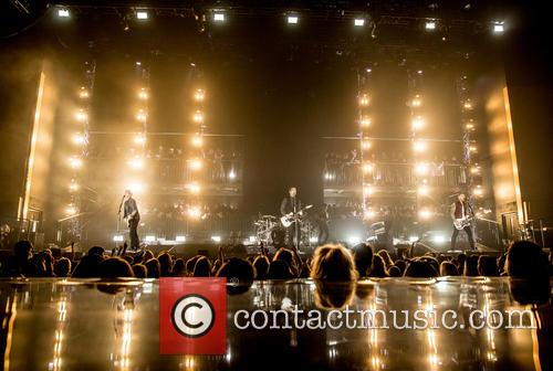 James Bourne, Matt Willis, Charlie Simpson and Busted 9