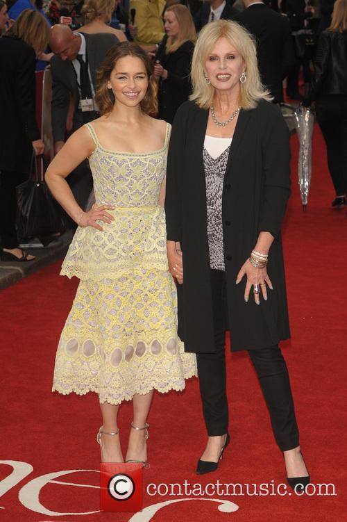 Emilia Clarke and Joanna Lumley 10