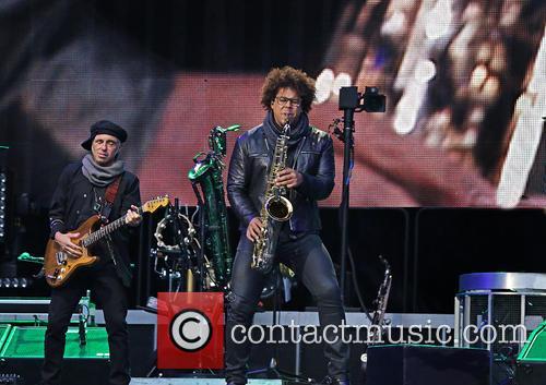 E Street Band, Jake Clemons and Nils Lofgren 6