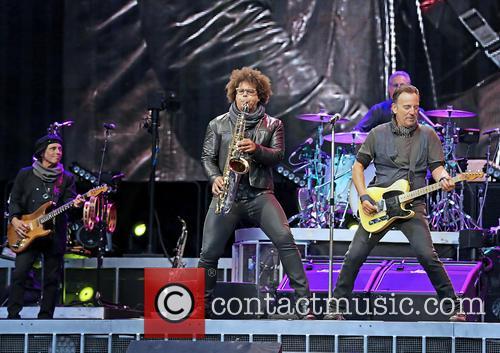 E Street Band, Nils Lofgren, Jake Clemons and Bruce Springsteen