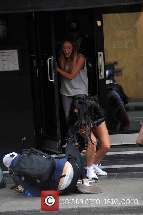Charlotte Crosby, Chloe Ferry and Marty Mckenna 5