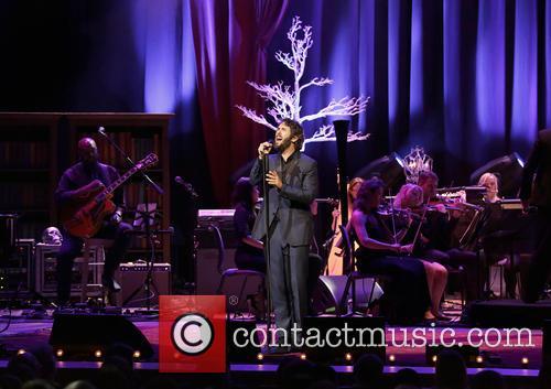 Josh Groban performing at Manchester Bridgewater Hall