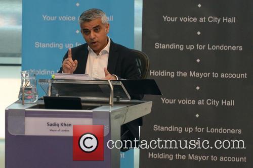 Mayor Sadiq Khan at City Hall for Question...