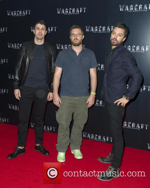 Toby Kebbell, Dunan Jones and Dominic Cooper