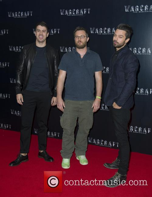 Toby Kebbell, Dunan Jones and Dominic Cooper 2