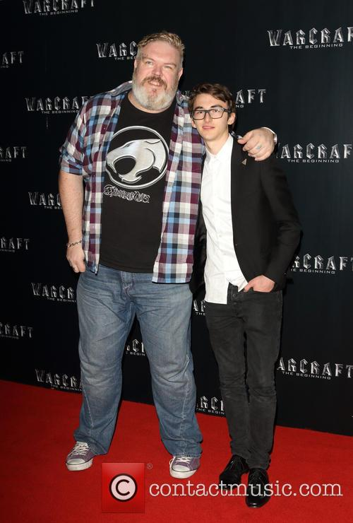 Kristian Nairn and Isaac Hempstead-wright 3