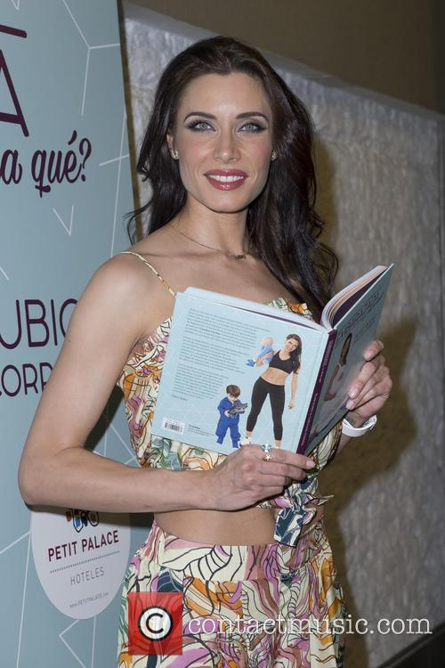 Pilar Rubio promotes her new  book 'Pregnant,...