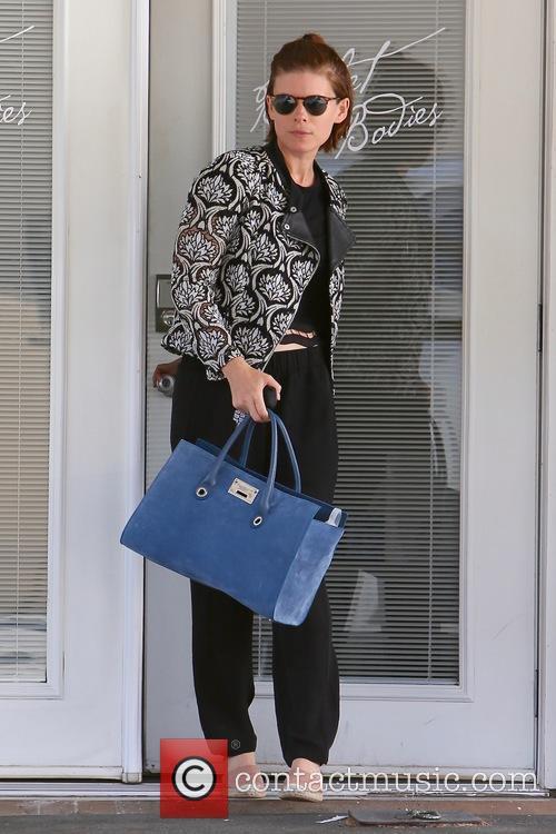 Kate Mara seen leaving Ballet Bodies in Los...