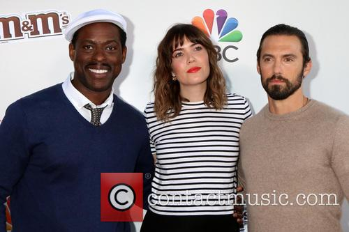 Sterling K. Brown, Mandy Moore and Milo Ventimiglia 2