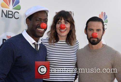 Sterling K. Brown, Mandy Moore and Milo Ventimiglia 1