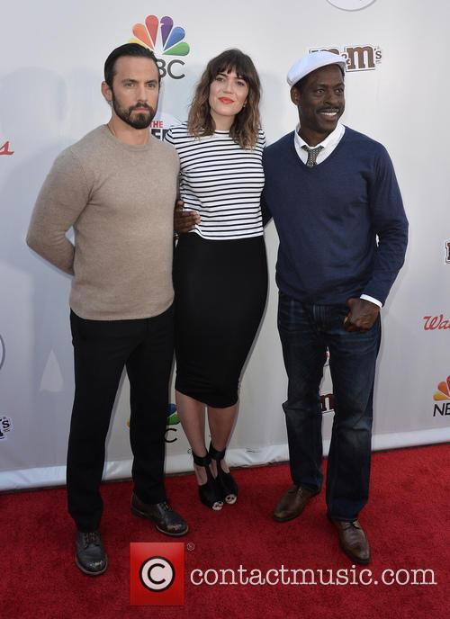 Milo Ventimiglia, Mandy Moore and Sterling K. Brown 1