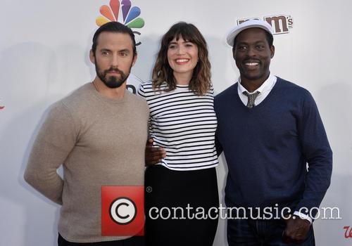 Milo Ventimiglia, Mandy Moore and Sterling K. Brown 2